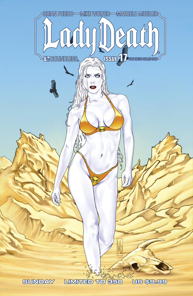 LADY DEATH #17 San Diego Sunday