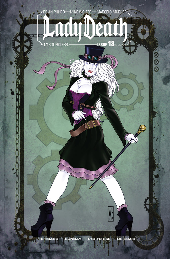 LADY DEATH #18 Steampunk Sunday