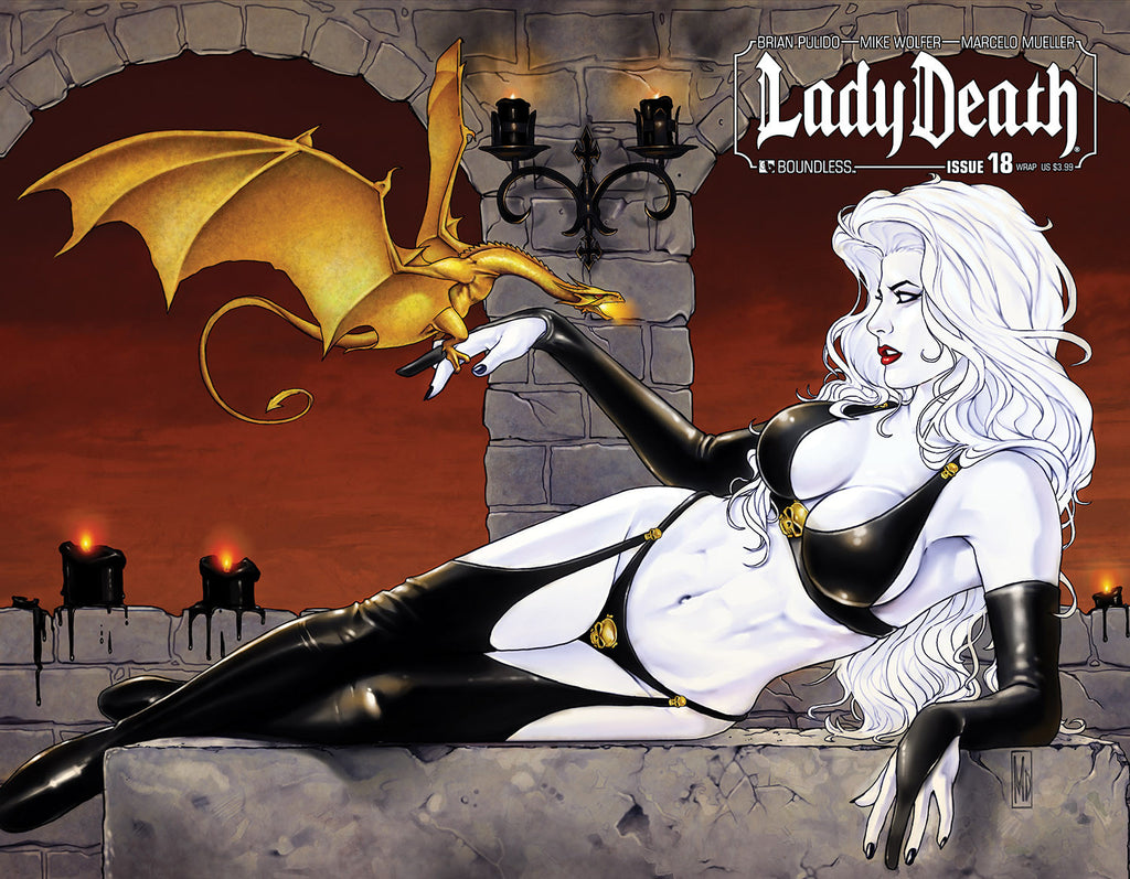 LADY DEATH #18 WRAPAROUND
