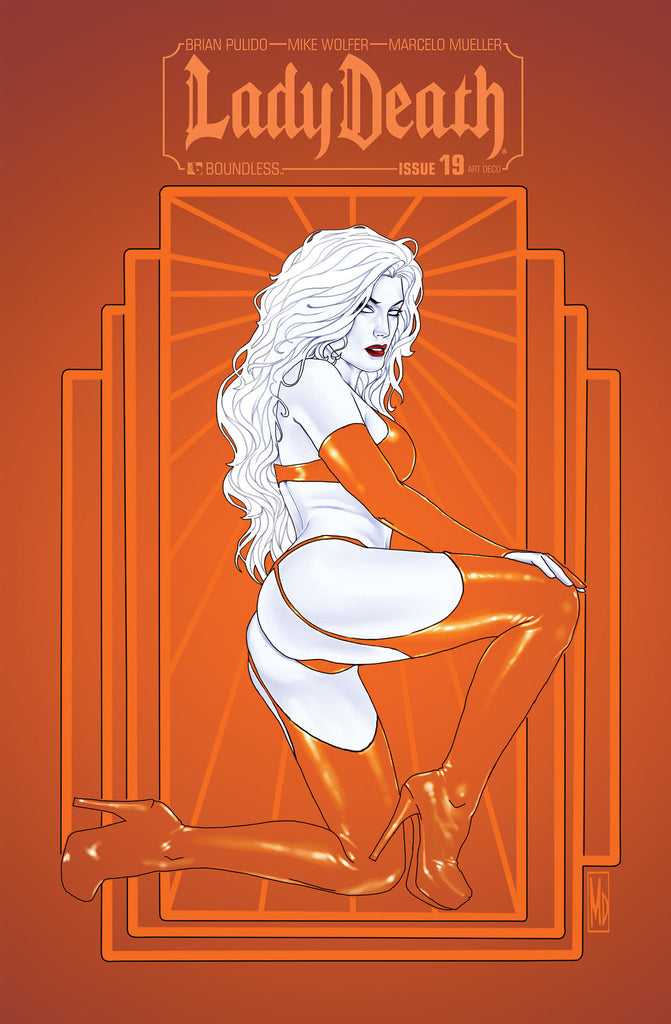 LADY DEATH #19 ART DECO ORDER INCENTIVE