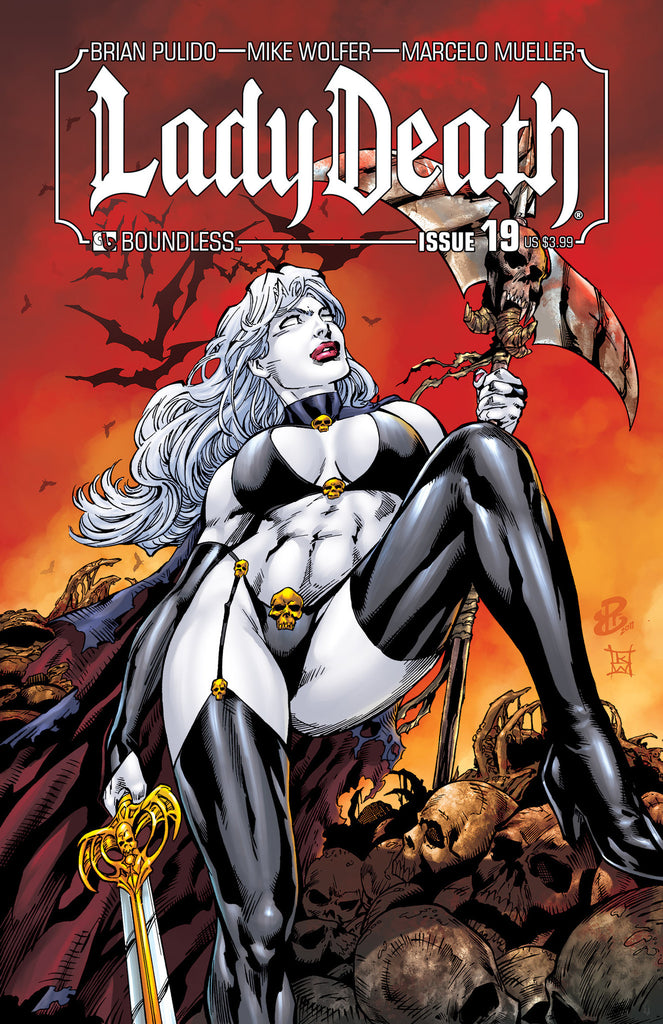 LADY DEATH #19 - Digital Copy