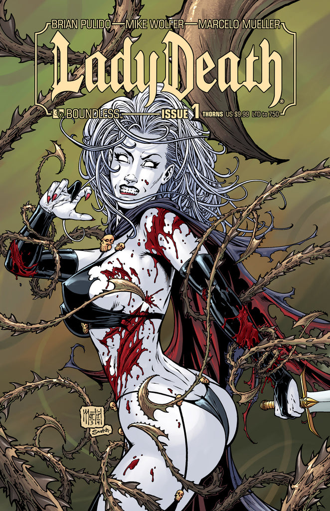 LADY DEATH #1 Thorns