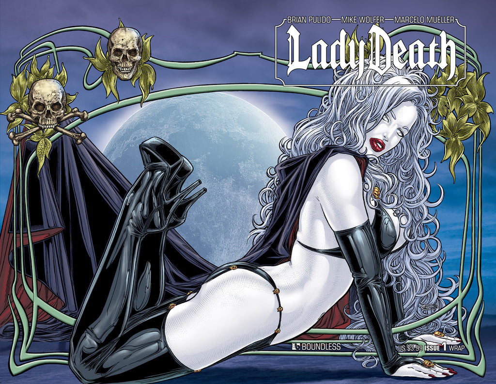 LADY DEATH #1 Wraparound