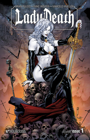 LADY DEATH #1 - Digital Copy
