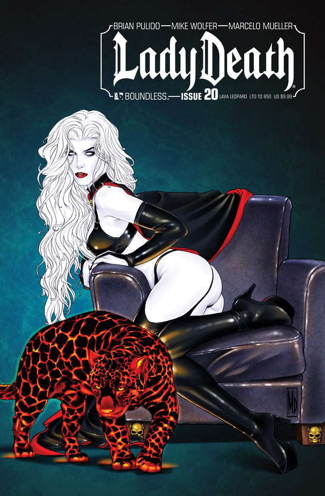 LADY DEATH #20 Lava Leopard