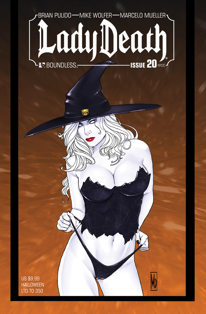 LADY DEATH #20 New York Halloween