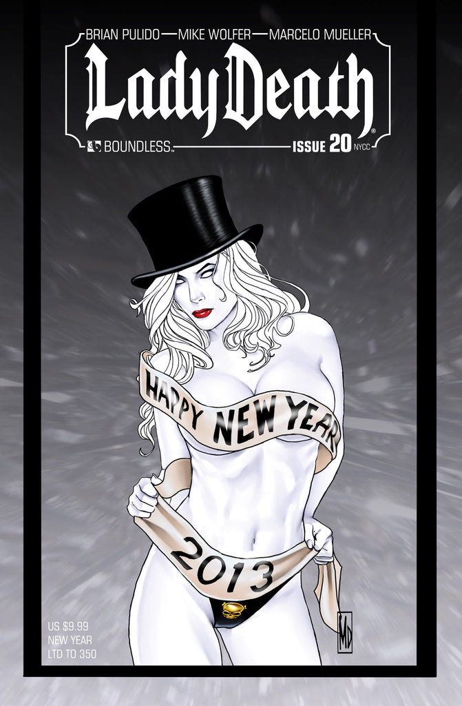 LADY DEATH #20 New York New Year