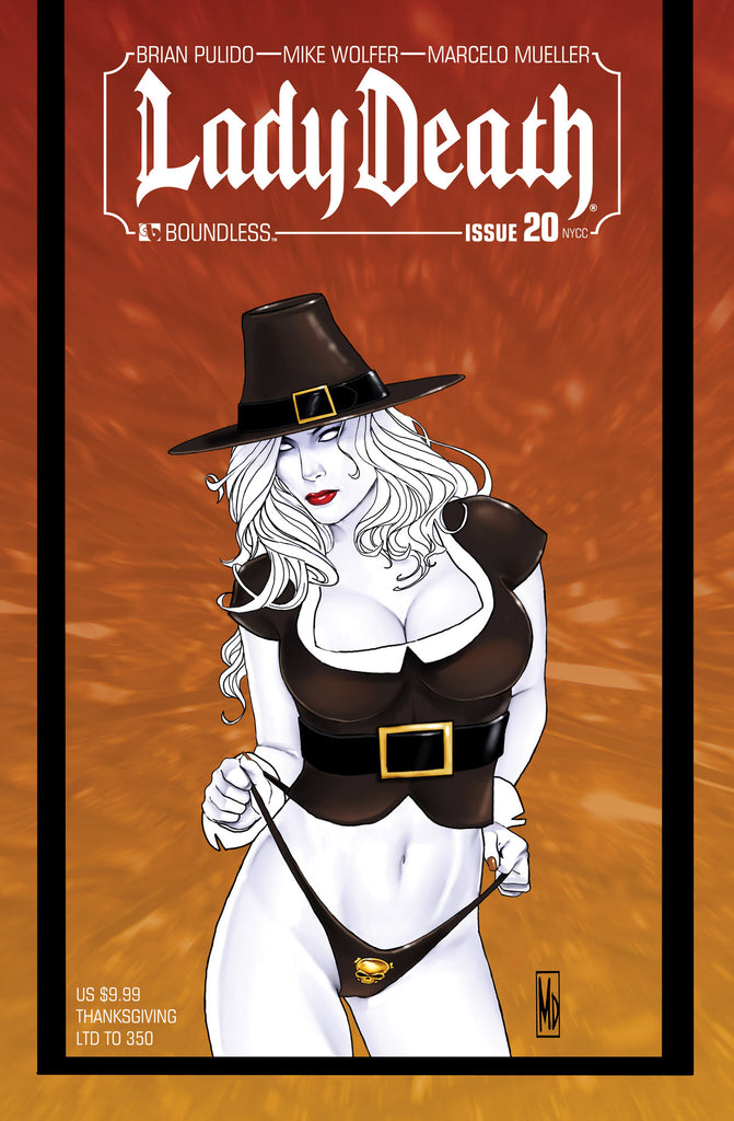 LADY DEATH #20 New York Thanksgiving