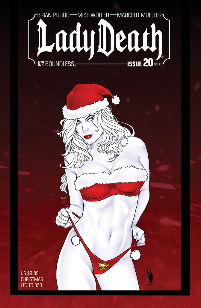 LADY DEATH #20 New York Christmas