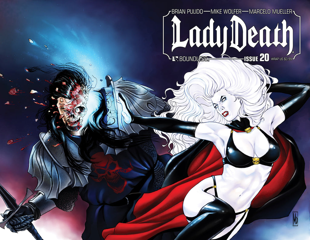LADY DEATH #20 WRAPAROUND