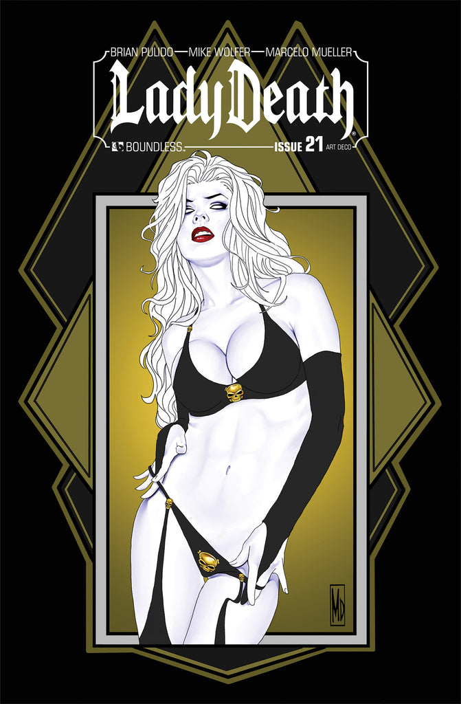 LADY DEATH #21 ART DECO ORDER INCENTIVE