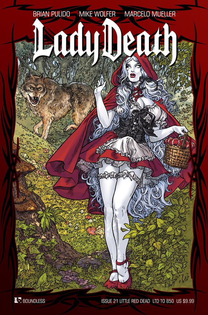 LADY DEATH #21 Little Red Dead