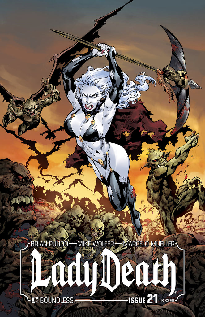 LADY DEATH #21 - Digital Copy