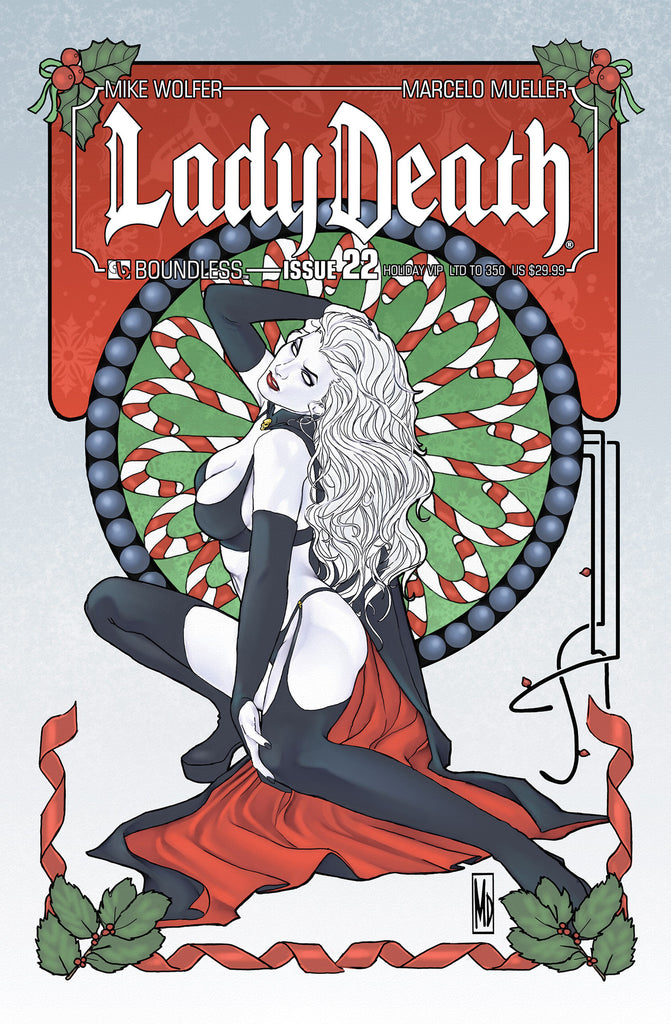 LADY DEATH #22 HOLIDAY VIP ULTRA PREMIUM