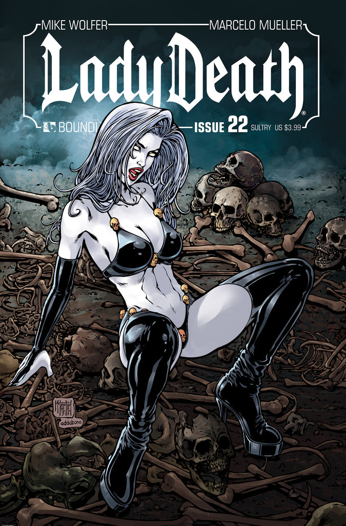 LADY DEATH #22 SULTRY
