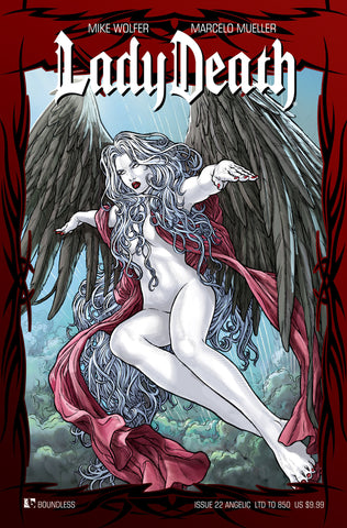 LADY DEATH #22 ANGELIC COVER