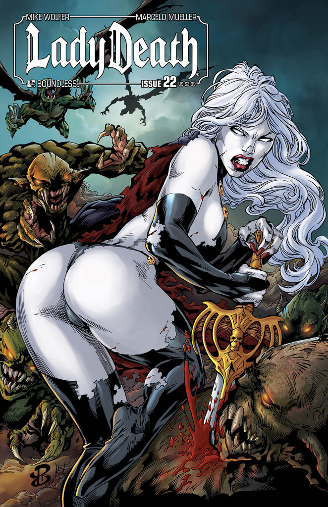LADY DEATH #22 - Digital Copy