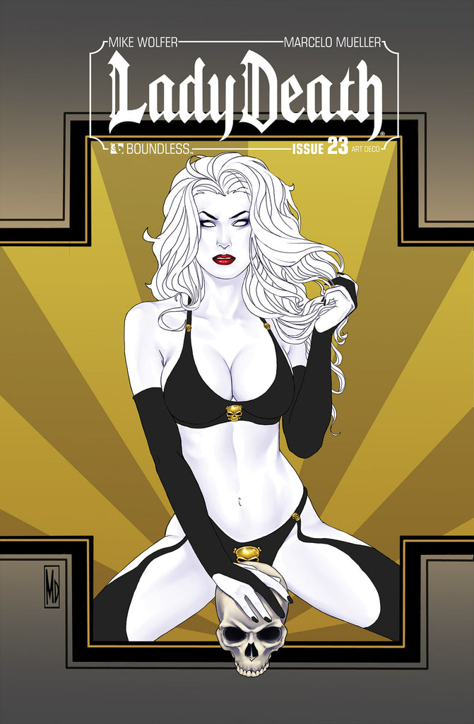 LADY DEATH #23 ART DECO ORDER INCENTIVE