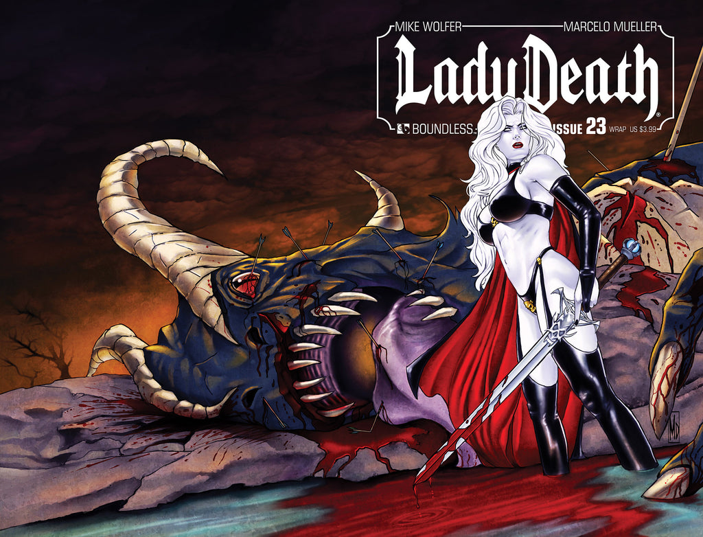 LADY DEATH #23 WRAPAROUND