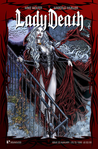 LADY DEATH #23 AUXILIARY COVER