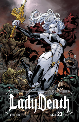 LADY DEATH #23 - Digital Copy
