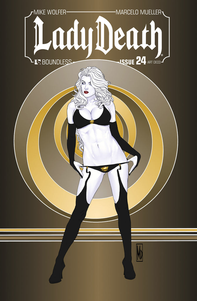 LADY DEATH #24 ART DECO ORDER INCENTIVE