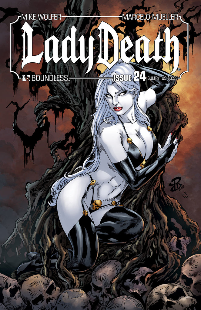 LADY DEATH #24 SULTRY