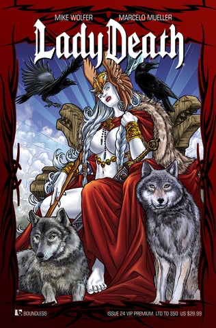 LADY DEATH #24 VIP ULTRA PREMIUM