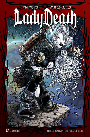 LADY DEATH # 16-26 Ultimate Set