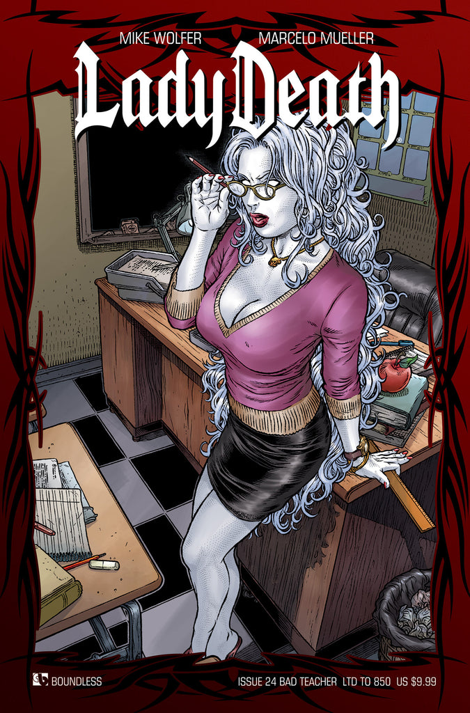LADY DEATH #24 BAD TEACHER