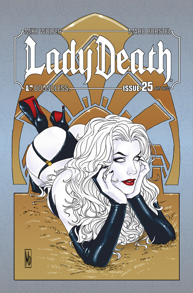 LADY DEATH #25 ART DECO ORDER INCENTIVE