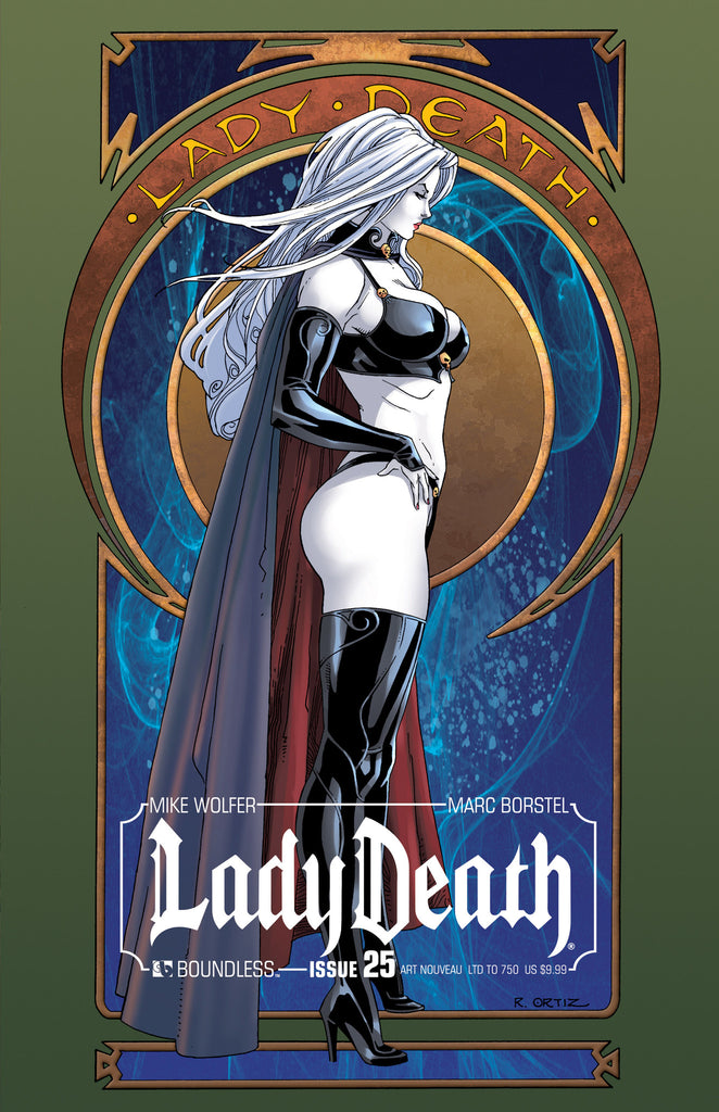 LADY DEATH #25 ART NOUVEAU