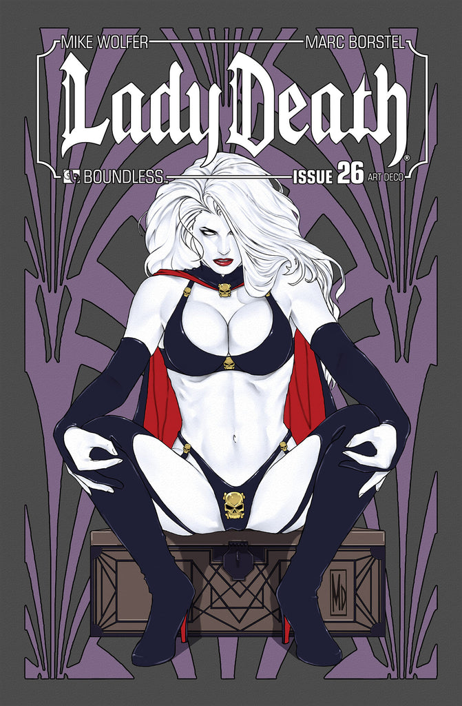 LADY DEATH #26 ART DECO ORDER INCENTIVE