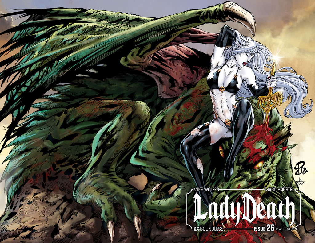 LADY DEATH #26 WRAPAROUND