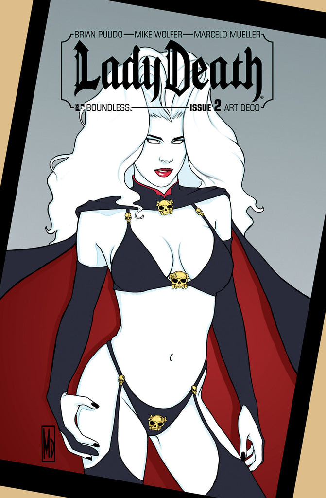 LADY DEATH #2  Art Deco order incentive