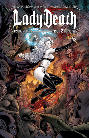 LADY DEATH #2 - Digital Copy