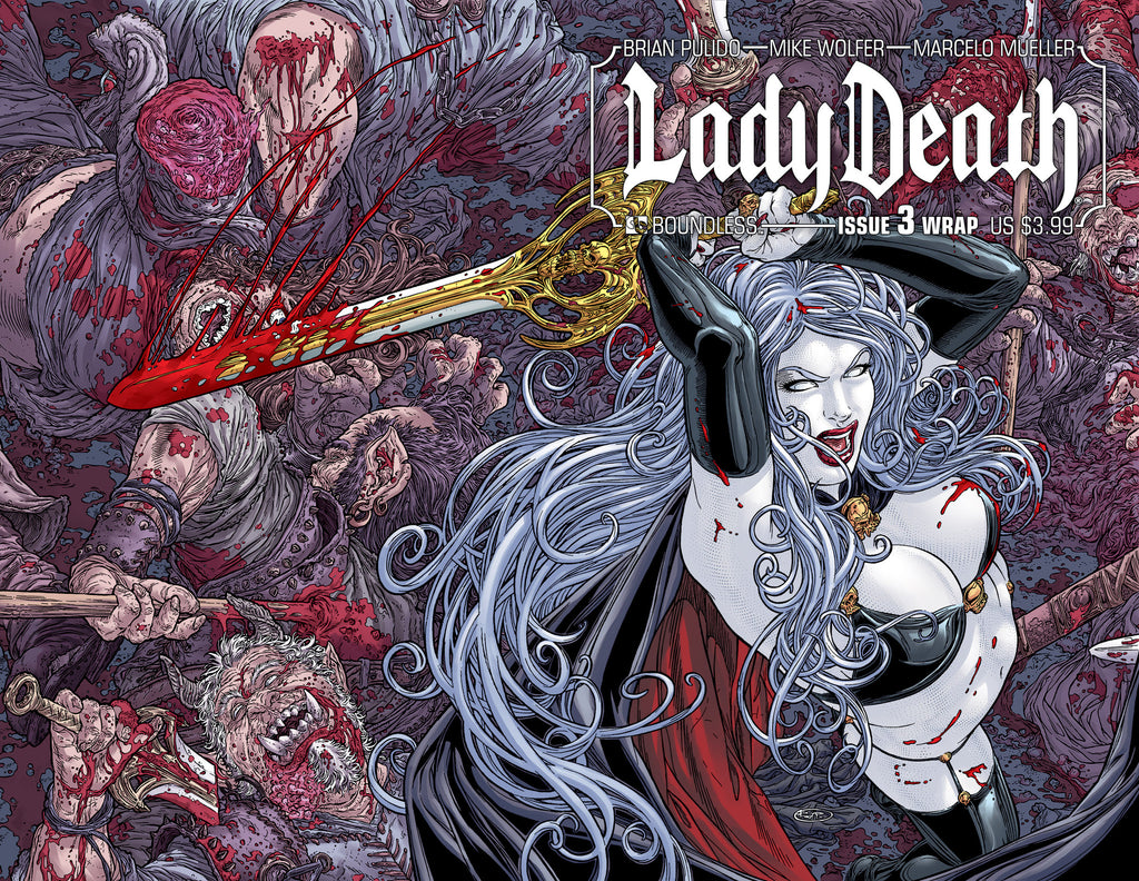 LADY DEATH #3 Wraparound