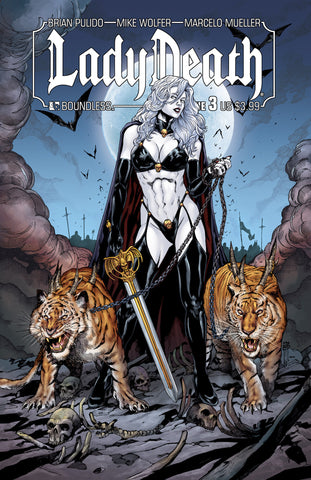 LADY DEATH #3 - Digital Copy
