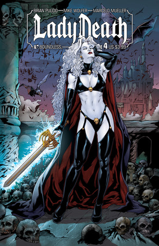 LADY DEATH #4 - Digital Copy
