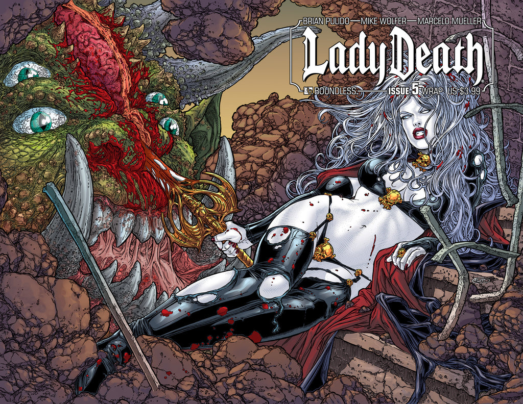 LADY DEATH #5 Wraparound