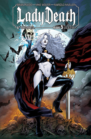 LADY DEATH #5 - Digital Copy