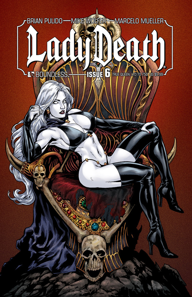 LADY DEATH #6 TRUE QUEEN
