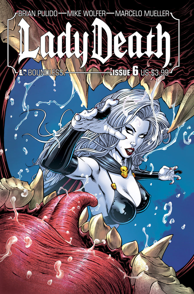 LADY DEATH #6 - Digital Copy