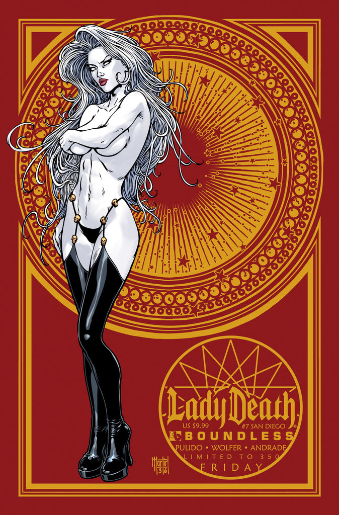 LADY DEATH #7 San Diego FRIDAY