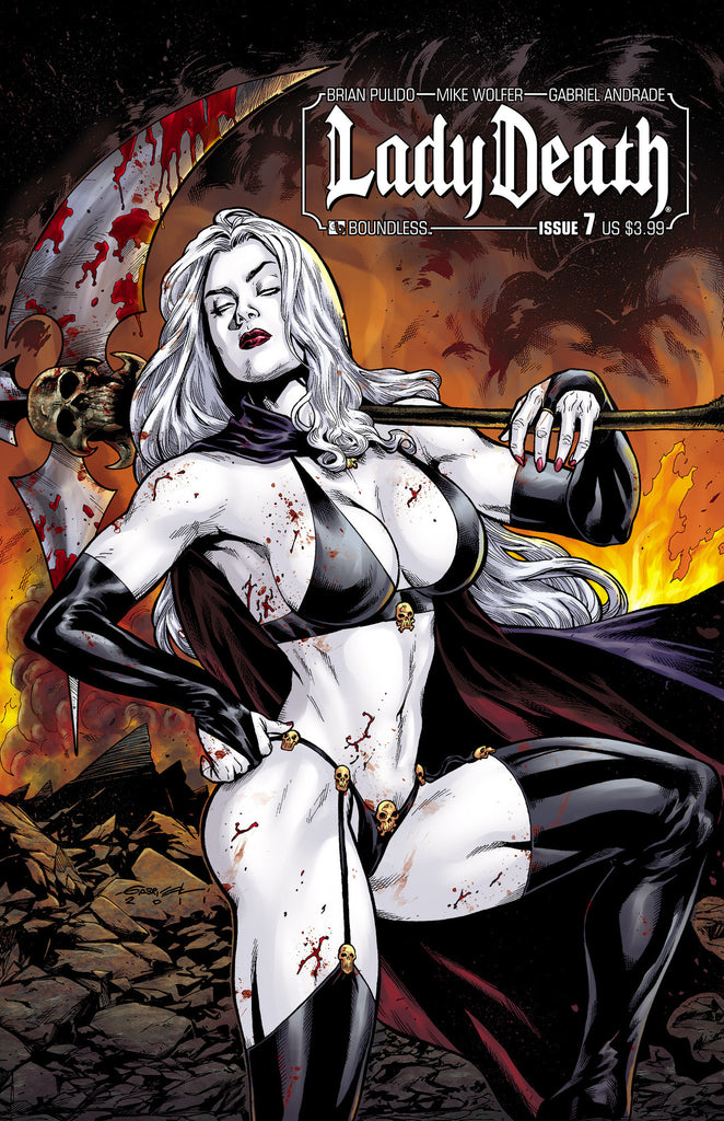 LADY DEATH #7 - Digital Copy
