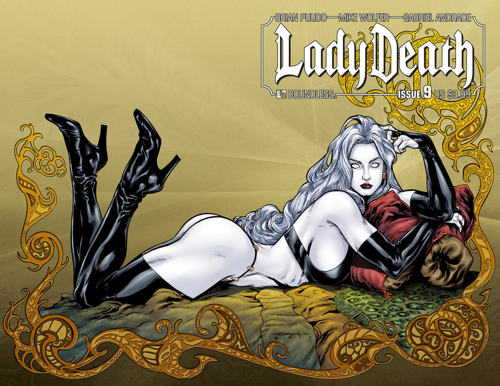 LADY DEATH #9 Wraparound