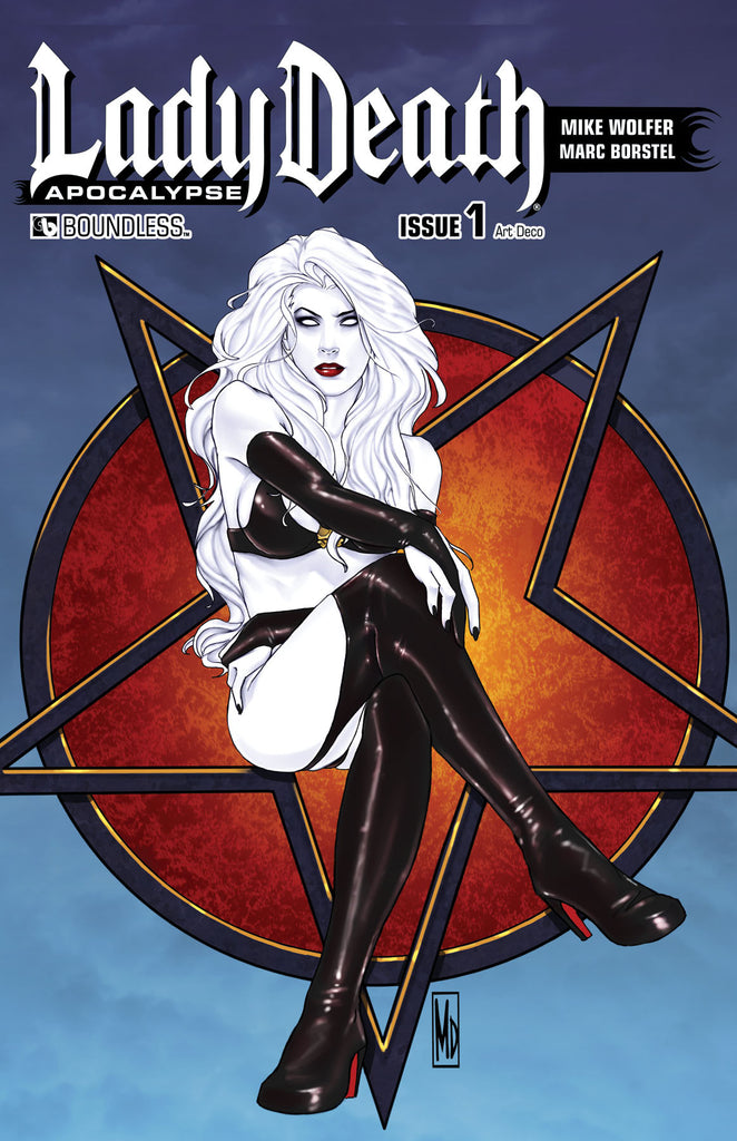 LADY DEATH: APOCALYPSE #1 Art Deco