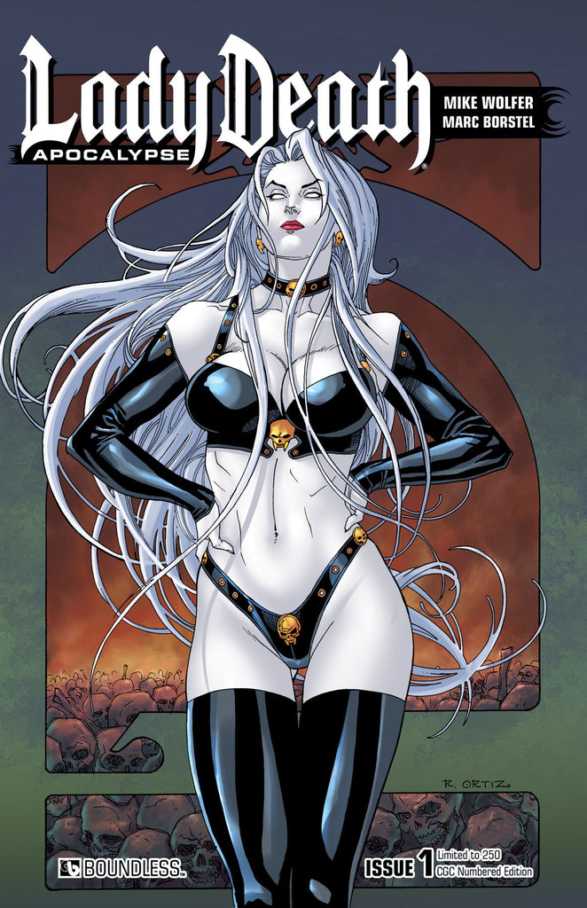LADY DEATH: APOCALYPSE #1 CGC Numbered Edition