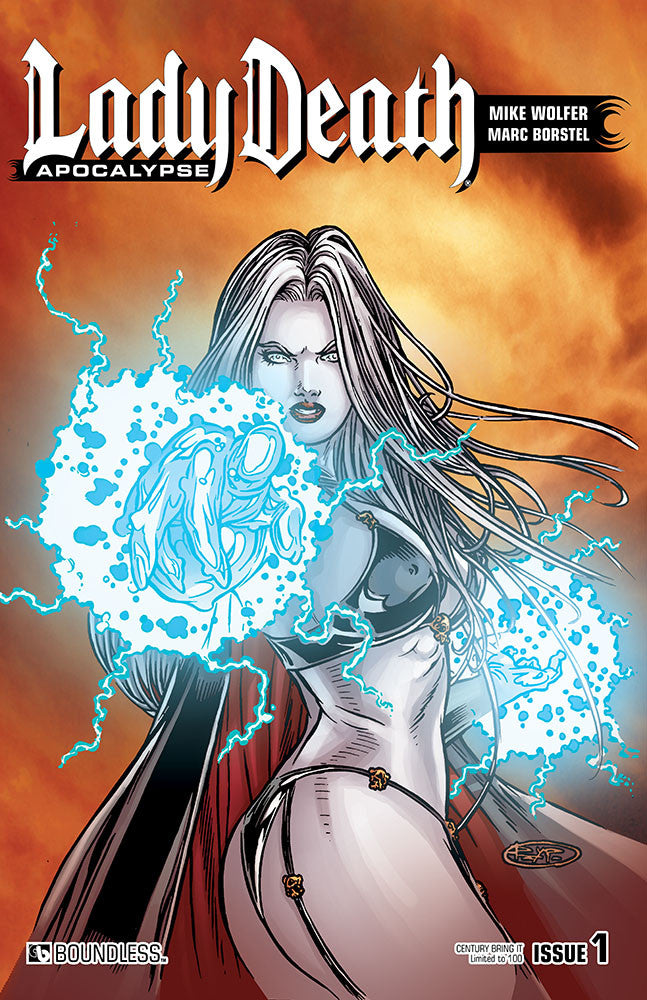 LADY DEATH: APOCALYPSE #1 Century Edition - Bring It