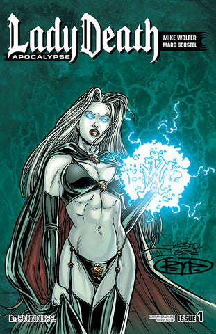 LADY DEATH: APOCALYPSE #1 Century Edition - Crackling